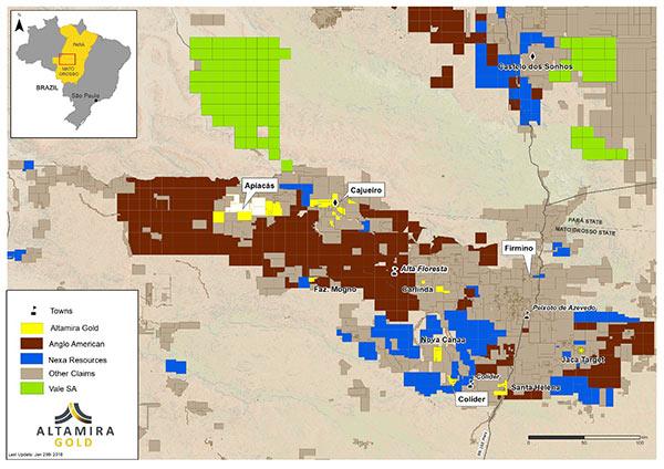 Altamira commences copper exploration program in Juruena