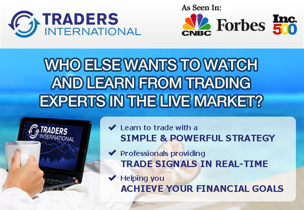 Who else wants to watch and learn from trading experts in the live market?